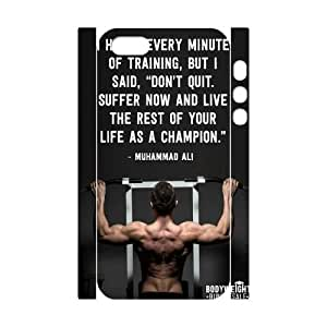 Custom Muhammad Ali 3D Hard Case for iPhone 5,iPhone 5S, Customized Muhammad Ali 3D Iphone 5S Hard Cover Case, DIY Muhammad Ali 3D iPhone 5 Cover