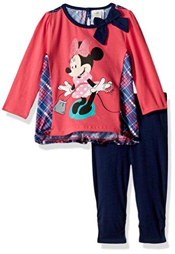 Disney Baby Girls' 2-Piece Minnie Mouse Satin Insert Top ...