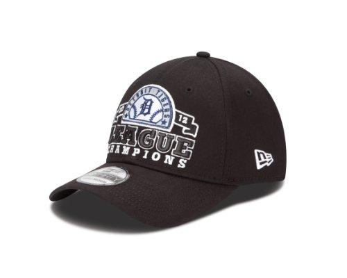 MLB Detroit Tigers Adult American League Champions Official Locker Room Cap, Black