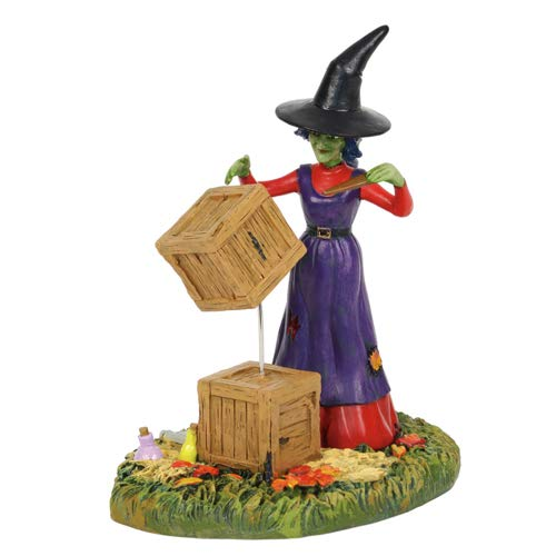 Department56 Snow Village Accessories Halloween Moving with Magic Figurine, 3.9