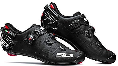 Wire 2 Carbon Road Cycling Shoes (42.0, Matte Black/Black)