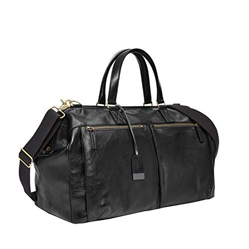 Fossil Men's Leather Duffel travel bag