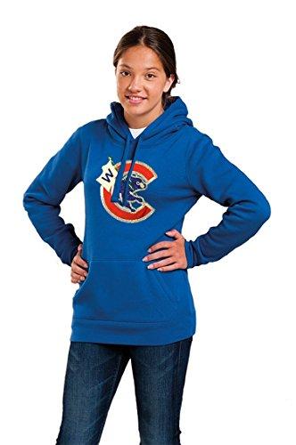 Cub Hoodie Sweatshirt - Thats Cub Ladies Bling Flying a W Hoodie (Medium)
