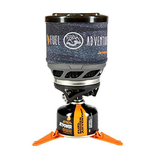 Jetboil MiniMo Personal Cooking System (Carbon w/ Line Art, One Size)