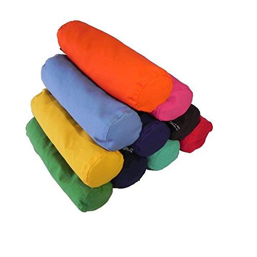 Yoga Neck Bolster Cushion Ergonomic Restorative Pillow