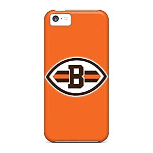 Back cell phone carrying cases Hot Fashion Design Cases Covers Durability iphone 5C - cleveland browns 8
