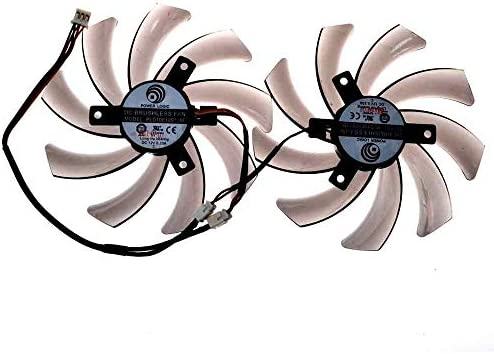 REFIT New Mute Graphics Card Cooling Fan 5.5CM cm Hole Distance 5.5CM 12V Technology