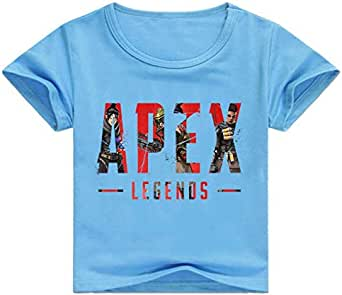 Apex Hero Legends kids Clothing Fashion Digital Printed cotton round collar casual T-shirt for girls and boys