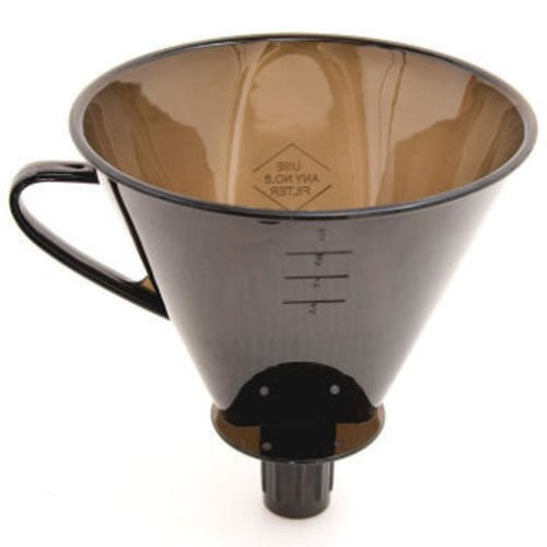 Direct Brew Pour Over Coffee Filter Cone Camping Travel Compact Maker by Balance World Inc
