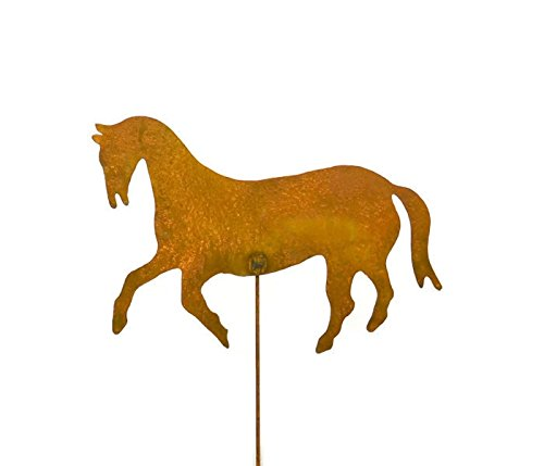 Horse Decorative Metal Garden Stake, Whimsical Yard Art!