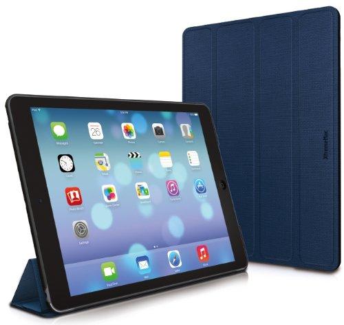 (XtremeMac Microfolio iPad Air Medium Tones, Monaco Blue (IPD-MF5-23))