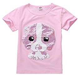 Cotton Fashion T-Shirt With Sequins