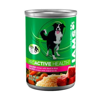 ProActive Health Adult Classic Pate with Beef and Rice Premium Dog Food 13.2 Oz, My Pet Supplies