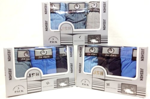 Ddi Wholesale Man Underwear 3 Pairs Per Box Assorted (pack Of 48) by DDI