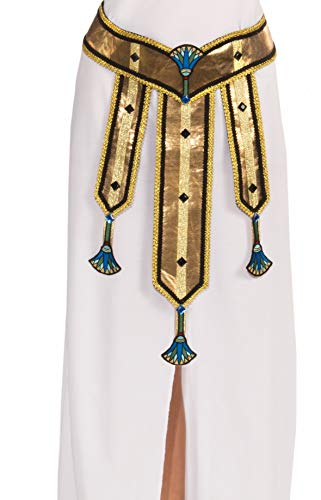 Forum Novelties Women's Deluxe Female Egyptian Costume Belt, Multi Colored, One Size]()