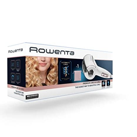 Rizador - Rowenta CF3730 So Curls Premium Care, Sistema de rizos automáticos, 3 ajustes de temperatura, Auto Apagado de seguridad: Amazon.es: Salud y ...