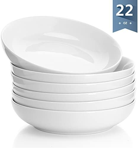 22 Ounce for Cereal Rice Soup Navy Sweese 1134 Porcelain Bowls Salad Set of 4