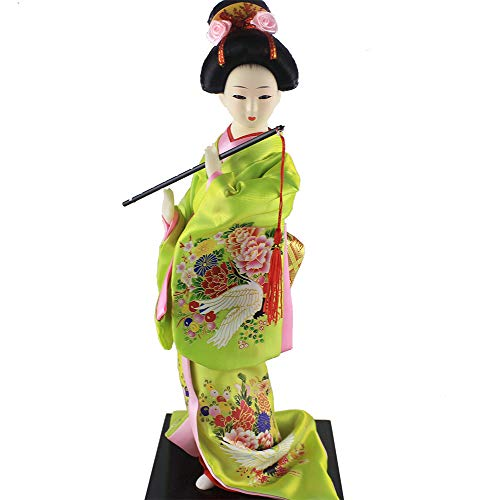 heartrace-A 12'' Tall Japanese Geisha Doll Geiko Maiko for sale  Delivered anywhere in USA