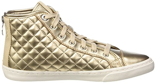 Geox Womens W Nouveau Club 16 Sneaker Mode Champagne / Taupe Clair