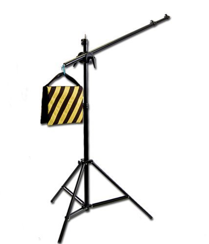 CowboyStudio Photography Video Studio Premium Pro Boom Set W501 with Light Stand, Boom and Weight Bag by CowboyStudio