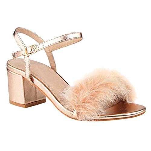 2 1/2 Inch Heel Fur - 3
