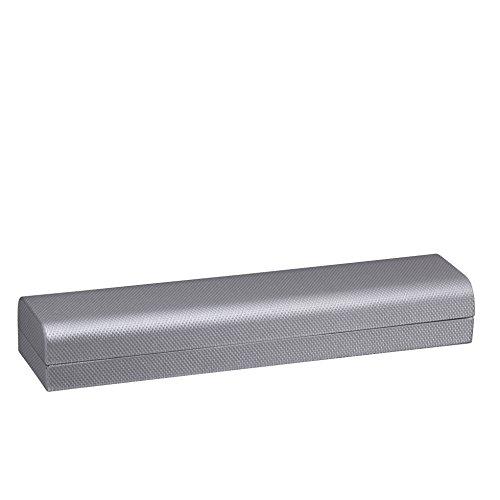 - Allure Contemporary Bracelet Box, Silver