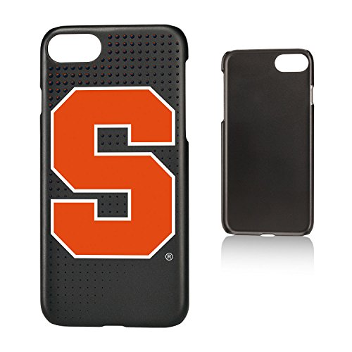 Keyscaper NCAA Syracuse Orange Dots Slim Case, iPhone 8/7/6, Black by Keyscaper