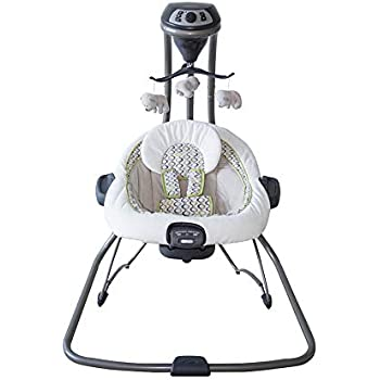 Amazon Com Graco Duet Connect Swing And Bouncer San