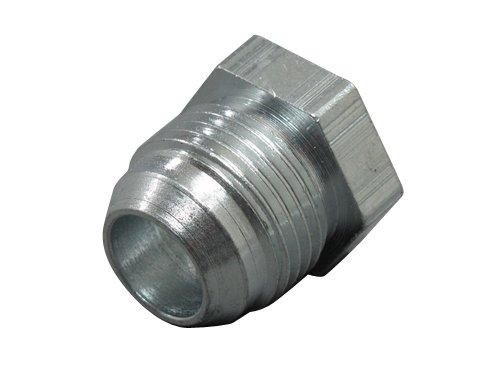 10 AN -10 AN AN10 Male Steel Weld on Bung Nut Fitting Oil Pan Turbo Return (Steel Male Connector)