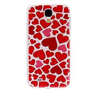 Heart Pattern Hard Case for Samsung Galaxy S4 I9500
