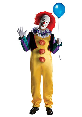 [Rubies Costume Co. Inc Mens Deluxe Pennywise Costume Large] (Ronald Mcdonald Costume)