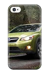 Anti-scratch And Shatterproof Subaru Crosstrek 7 Phone Case For Iphone 4/4s/ High Quality Tpu Case
