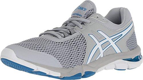 ASICS Women's Gel-Craze TR 4 Mid Grey/White 7 B - Shoe Training Mid Cross