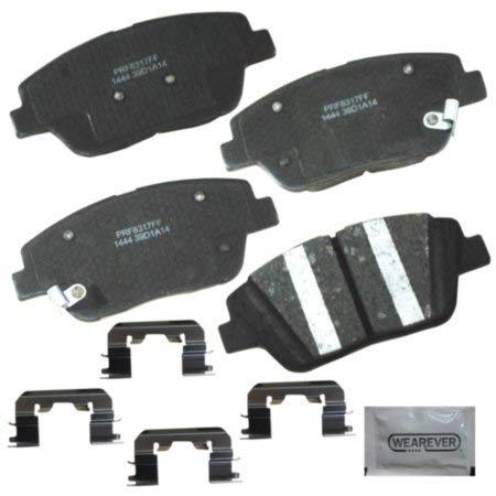 CARQUEST Wearever Platinum Professional Ceramic Brake Pads - Front (4-Pad Set)