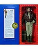 world war 2 army uniform - G.I. Joe Year 1996 Limited Edition World War II 50th Anniversary Commemorative 12 Inch Tall Action Figure - ARMY GENERAL with Dark-Shade Winter Shirt, Khaki
