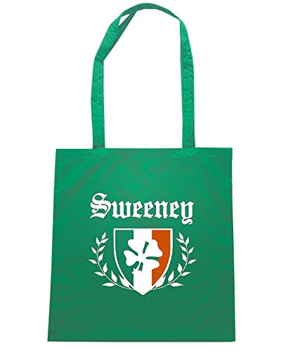 T-Shirtshock - Bolsa para la compra TSTEM0286 sweeney shamrock crest Verde
