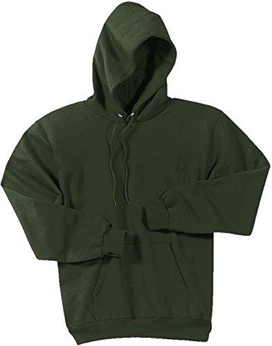 Joe's USA Hoodies Soft & Cozy Hooded Sweatshirt,Large Olive