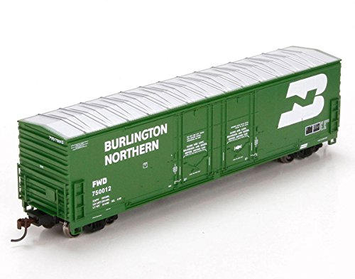 Athearn HO Scale 50' Evans Double Door Box Car Burlington Northern/BN #750012