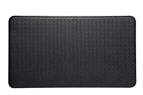 Imprint Cumulus9 Kitchen Mat Nantucket Series 20 in. x 36 in. x 5/8 in Black (Imprint Comfort Mat Cumulus9)
