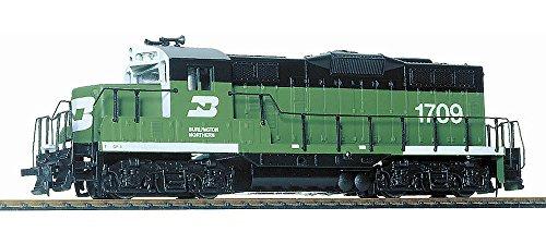 (Walthers Trainline EMD GP9M Standard DC Burlington Northern #1709 Collectable Train)