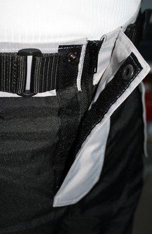 tama/ño germanwear Moto Pantal/ón Cordura Textiles Pantal/ón de Motorista combinado Pantalones Negro//Gris 62