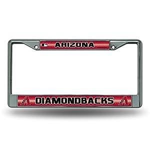 Amazon Com Mlb Arizona Diamondbacks Bling License Plate