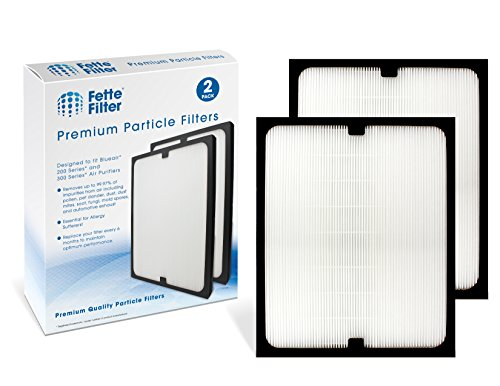 Fette Filter - True HEPA Filter Compatible with Blueair 200/300 Series Particle Filter Models 201, 203, 203 Slim, 205, 210B, 215B, 250E, 270E, 270E Slim, 303