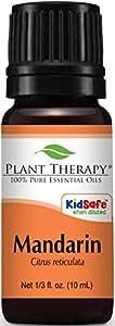 Mandarin Essential Oil. 10 ml. 100% Pure, Undiluted, Therapeutic Grade.