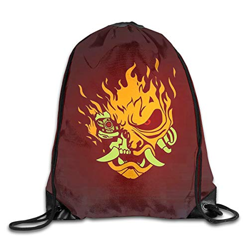 Keanu-Reeves 2077 Casual Drawstring Bag Backpack Shoulder Bags Gym Bag Large Lightweight Gym For Men And Women