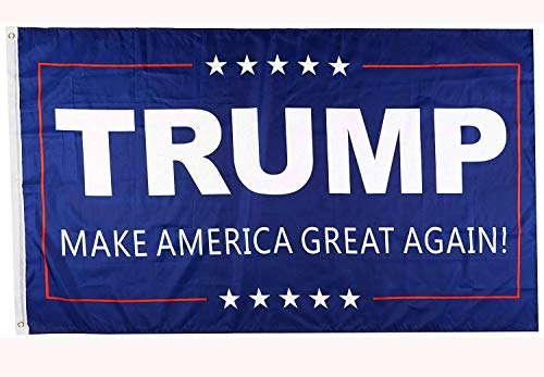 DFLIVE Donald Trump for President 3x5 Feet Printed Flag Make America Great Again with Grommets