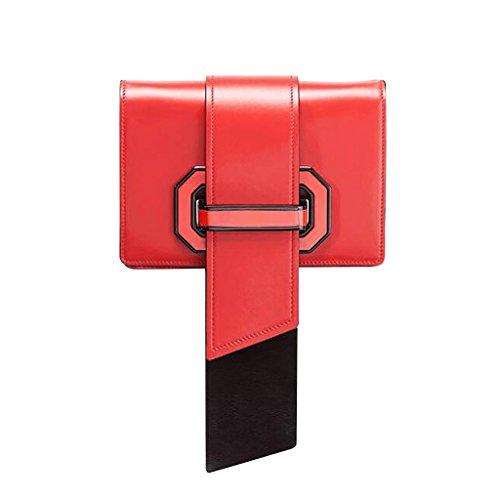 Multicolore Dimensioni 13cm Bag Borse Rosso Donna Colore Uk A 6cm Borsa Mena 20cm Quadri Messenger Blu Tracolla wUxXqTn7