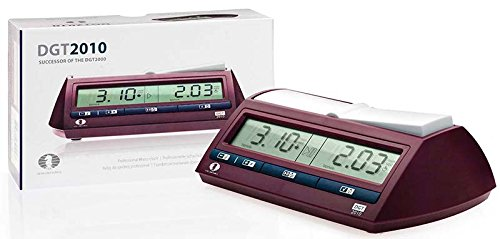 The DGT 2010 Digital Chess Clock Timer by DGT Projects [Toy] (English Manual): Amazon.es: Juguetes y juegos