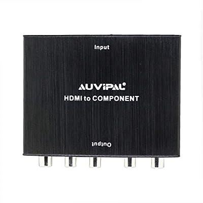 AuviPal 1080P HDMI RCA AV Composite Video Converter