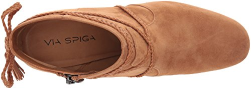 Via Spiga Womens Maddox Ankle Bootie Beech Suede